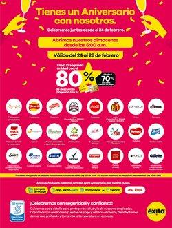 Ofertas de Supermercados en el catálogo de Éxito en Zipaquirá ( 6 días más )