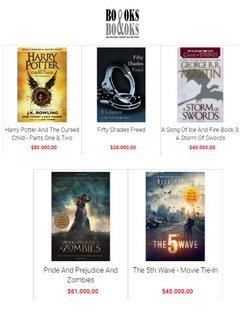 Ofertas de Películas en Books and Books