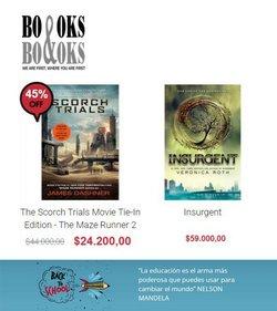 Ofertas de Libros y Cine en el catálogo de Books and Books ( Publicado ayer)