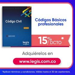Ofertas de Libros y Cine en el catálogo de Legis ( Publicado ayer)