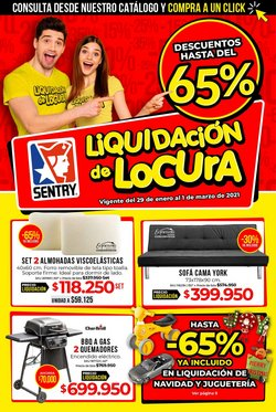 Ofertas de Hogar y muebles en el catálogo de Home Sentry en Bucaramanga ( Vence mañana )