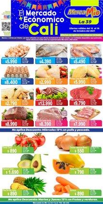 Ofertas de Supermercados en el catálogo de MercaMío ( Vence hoy)