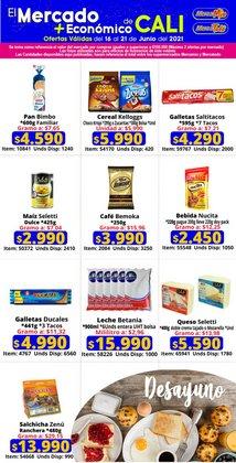 Ofertas de Supermercados en el catálogo de MercaTodo ( Vence hoy)