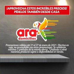 Ofertas de Supermercados en el catálogo de Ara en Sabaneta ( Publicado hoy )