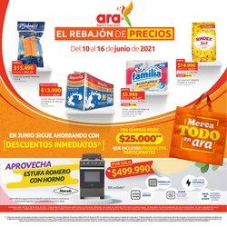Ofertas de Supermercados en el catálogo de Ara ( Vence hoy)