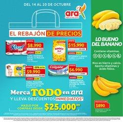 Ofertas de Supermercados en el catálogo de Ara ( Vence mañana)