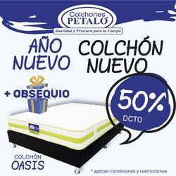 Ofertas de Hogar y muebles en el catálogo de Colchones Pétalo en Barranquilla ( 3 días más )