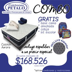 Catálogo Colchones Pétalo ( Caducado )