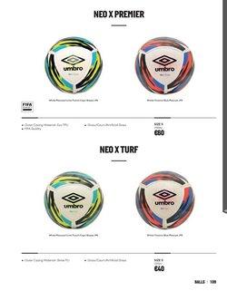 Ofertas de Balón de fútbol en Umbro