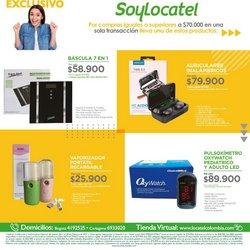 Ofertas de Farmacia, droguería y óptica en el catálogo de Locatel en Floridablanca ( 3 días más )