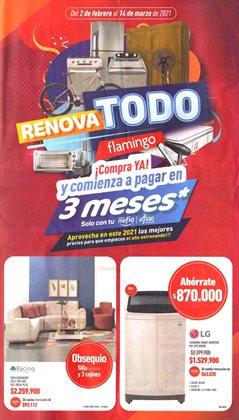 Ofertas de Tiendas departamentales en el catálogo de Flamingo en Barranquilla ( 13 días más )