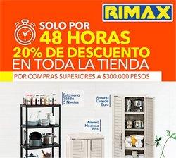 Catálogo Rimax ( Publicado ayer)