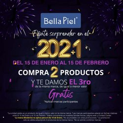 Ofertas de Perfumerías y belleza en el catálogo de Bella Piel en Cartago ( 21 días más )