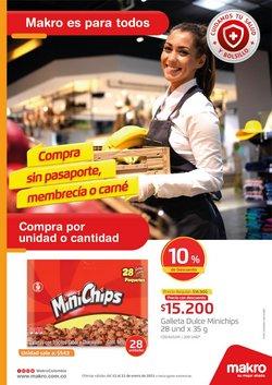 Ofertas de Supermercados en el catálogo de Makro en Rionegro Antioquia ( Caduca hoy )