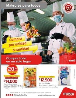 Ofertas de Supermercados en el catálogo de Makro en Santa Marta ( 2 días publicado )