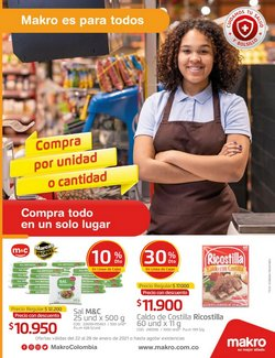 Ofertas de Supermercados en el catálogo de Makro en Sabaneta ( Publicado ayer )