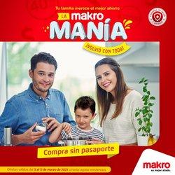 Ofertas de Supermercados en el catálogo de Makro en Floridablanca ( Publicado ayer )