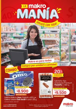 Ofertas de Supermercados en el catálogo de Makro en Sibaté ( 3 días más )