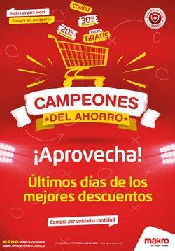 Ofertas de Supermercados en el catálogo de Makro ( Vence hoy)