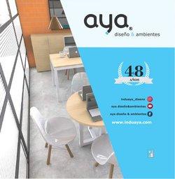 Catálogo Muebles Aya ( Más de un mes )