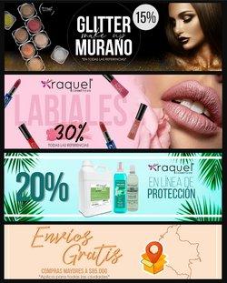 Ofertas de Cosméticos Raquel en el catálogo de Cosméticos Raquel ( 7 días más)
