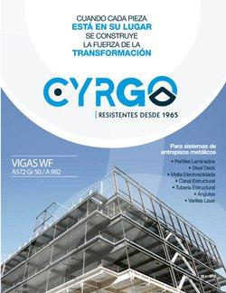 Catálogo Cyrgo ( Más de un mes )