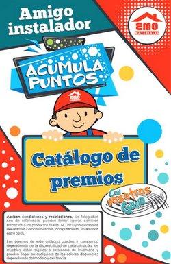 Catálogo Materiales EMO ( Más de un mes)