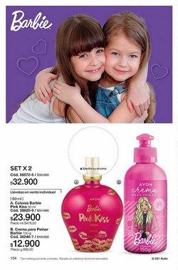 Ofertas de Barbie en el catálogo de Avon ( Vence hoy)