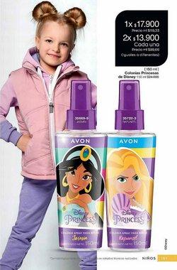 Ofertas de Disney en el catálogo de Avon ( Vence hoy)