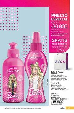 Ofertas de Barbie en el catálogo de Avon ( 20 días más)