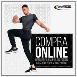 Ofertas de Deportivos Carvajal en el catálogo de Deportivos Carvajal ( 24 días más)