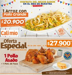 Ofertas de Restaurantes en el catálogo de Cali Mio ( 2 días más)