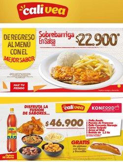 Ofertas de Restaurantes en el catálogo de Cali Vea en Barranquilla ( 5 días más )