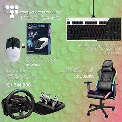 Ofertas de Informática y electrónica en el catálogo de Teknopolis.co ( Publicado hoy)