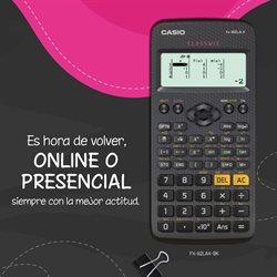 Catálogo Casio ( Caduca hoy )