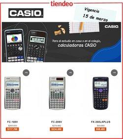 Ofertas de Informática y electrónica en el catálogo de Casio en Bello ( Publicado ayer )