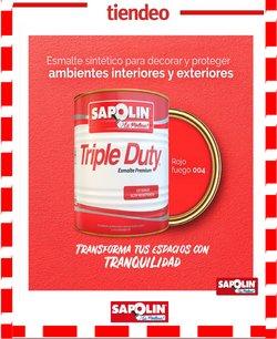 Ofertas de Ferreterías y Construcción en el catálogo de Sapolin en Itagüí ( 3 días más )