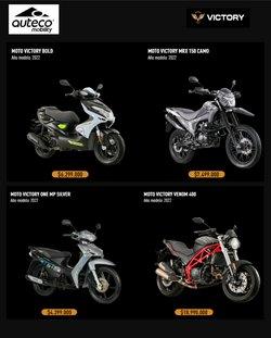 Ofertas de Carros, Motos y Repuestos en el catálogo de Auteco ( Más de un mes)