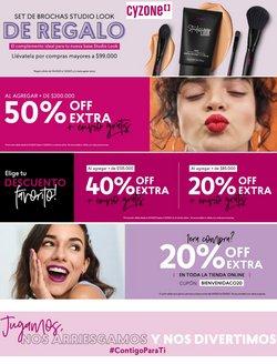Ofertas de Perfumerías y belleza en el catálogo de Cyzone en Bello ( 4 días más )