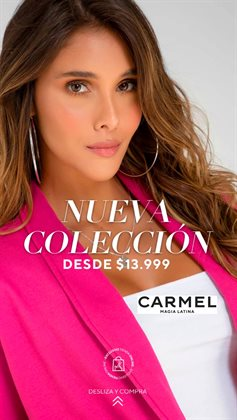 Catálogo Carmel ( 19 días más )