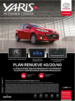 Ofertas de Sobres en Toyota