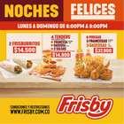 Ofertas de Restaurantes en el catálogo de Frisby en Copacabana ( Más de un mes )