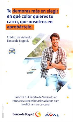 Ofertas de Mas en Banco de Bogotá
