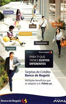 Ofertas de Bancos y seguros en el catálogo de Banco de Bogotá en Facatativá ( 26 días más )