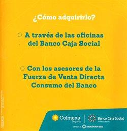 Ofertas de Banco en Banco Caja Social