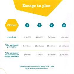 Ofertas de Planes en Banco Caja Social