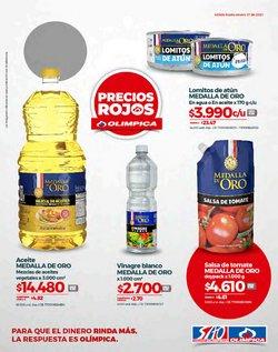 Ofertas de Supermercados en el catálogo de Olímpica ( Caduca hoy )