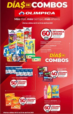 Catálogo Olímpica en Barranquilla ( 2 días más )