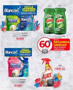 Ofertas de cloro en el catálogo de Olímpica ( Publicado ayer)