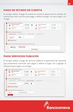 Ofertas de Pago en Bancoomeva